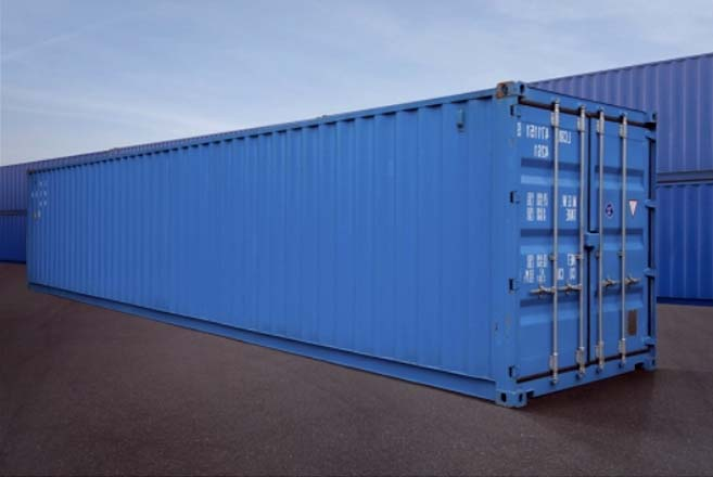 Container 40 pies azul