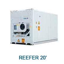 Contenedor marítimo Reefer 20'