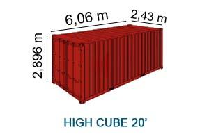 High Cube 20'
