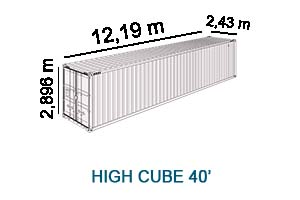 High Cube 40'