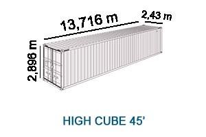 High Cube 45'