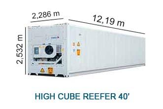 High Cube Reefer 40'