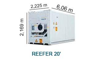 Reefer 20'