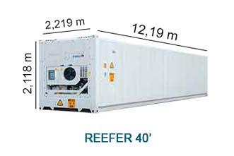 Reefer 40'