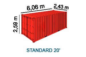 standard 20'