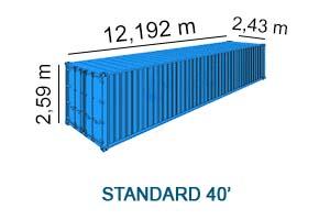 standard 40'